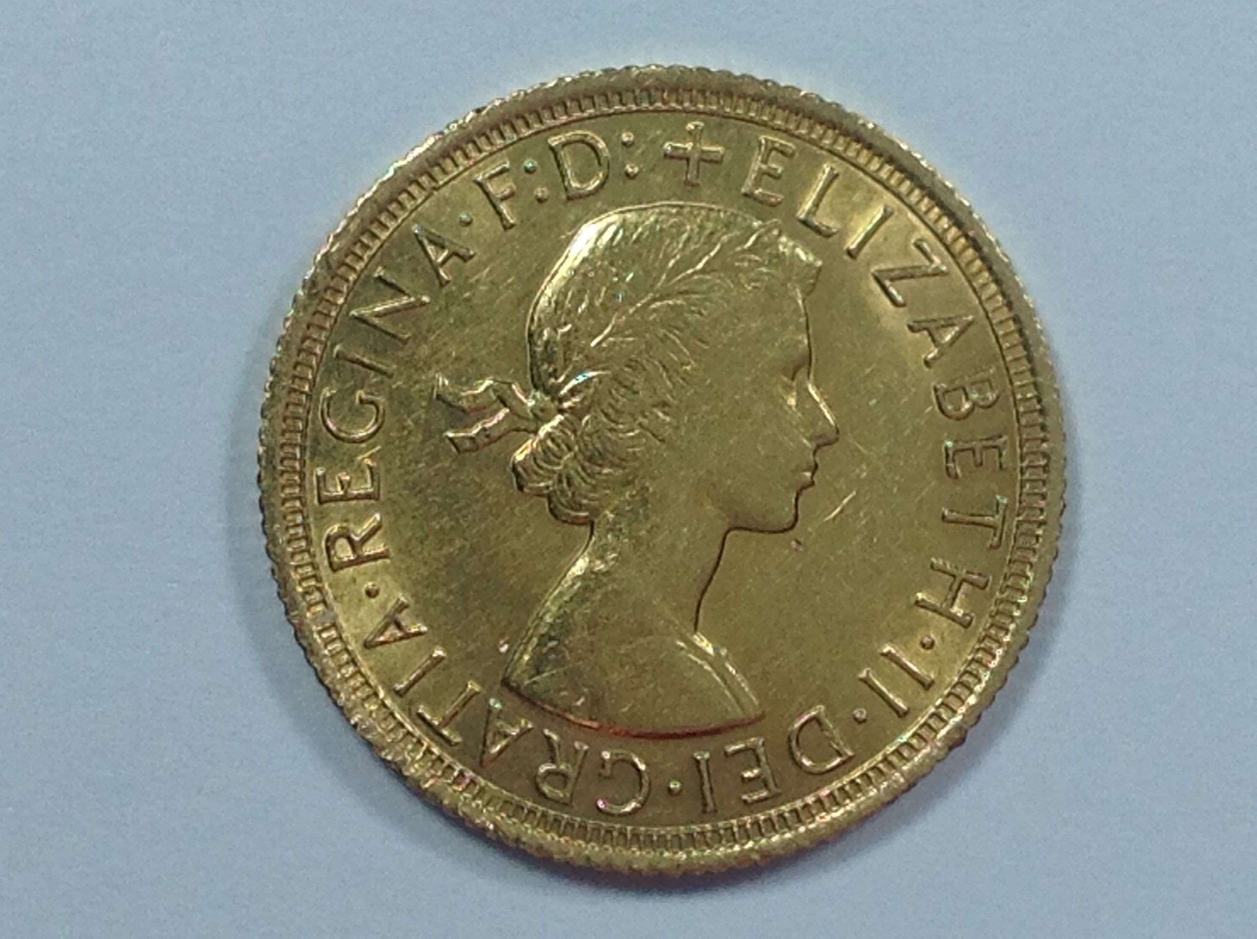 Queen Elizabeth II Young Head